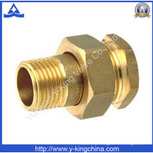 Alta qualidade Brass Mangueira Conector Pipe Fitting (YD-6015)