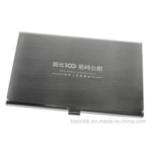 Brushed Steel Name Card Holder for Trade Show (BS-S-003)