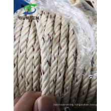 Cheap PP Mono/Polypropylene/Plastic/Fishing/Marine/Mooring/Twist/Twisted Beige Danline Rope for Myanmar