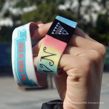Оптовый пользовательский логотип / дизайн Рекламные ткани Браслеты и браслеты