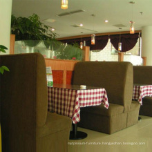 New Restaurant Fabric Sofa with High Quality