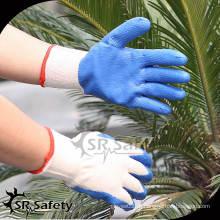 10G Перчатки с латексным покрытием / Защитные перчатки / рабочие перчатки, гладкая отделка, экономичный стиль
