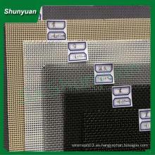 Ventana de metal de acero inoxidable y pantalla mosquitera puerta