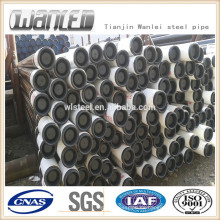 Api 5ct J55 tubería para tuberías de aceite y gas