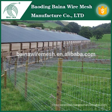 galvanized steel deer fence/ Factory Direct Sale Galvanized grassland fencing / cow fence field fencing