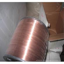 Alambre de soldadura recubierto de cobre para clavos de bobina