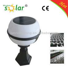3W bola de cristal solar jardín luz solar bola, luz, ornamentos del jardín solar luces
