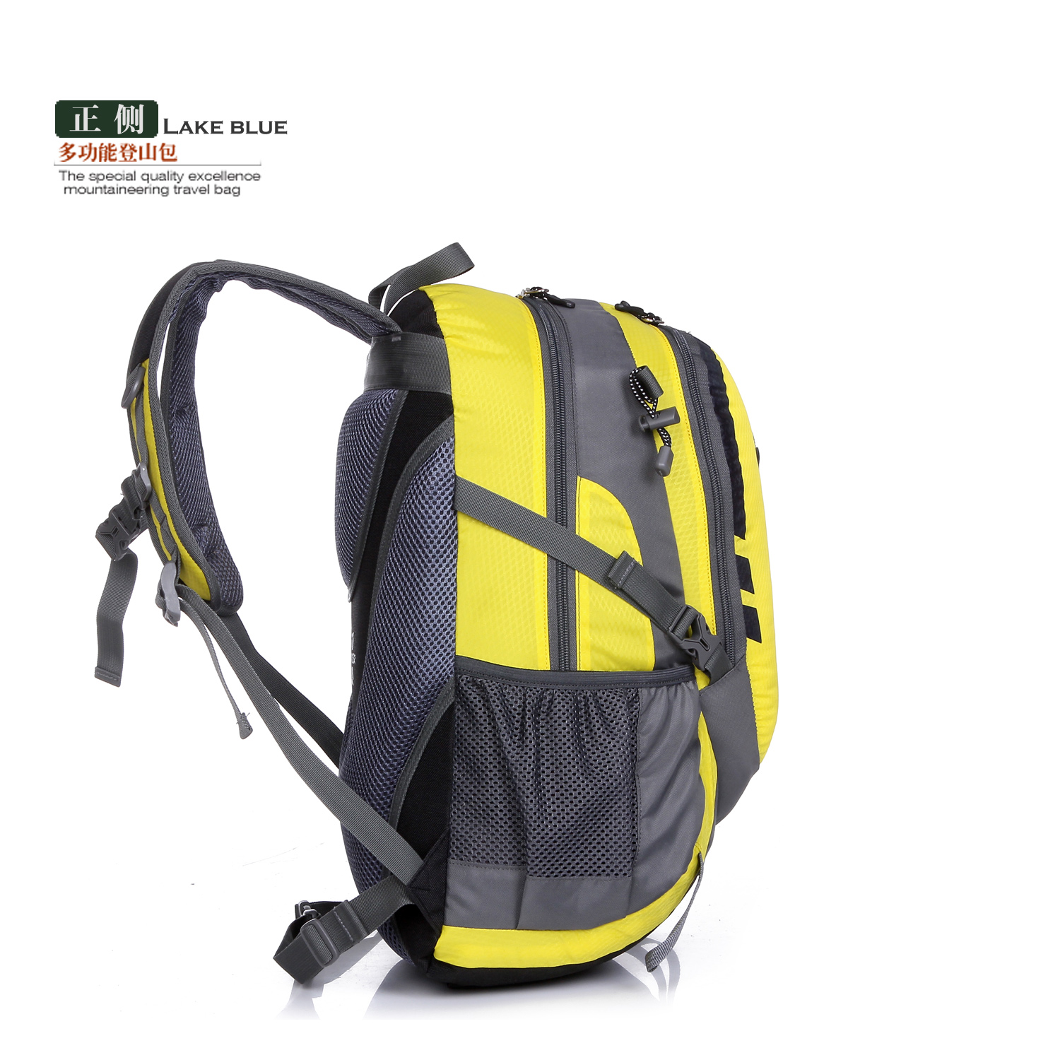 Lightweight multi-function durable hiking travel bag1