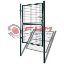 Single Door Metal Patio Gate Stable Fence Gate