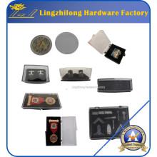 Caja de joyería plástica barata del precio de fábrica