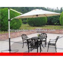 3m 65mm pole cantilever 8 ribs umbrella