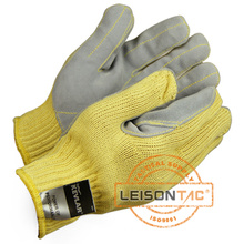 Tactical Gloves (Cut resistant) with Kevlar and Cow Leather Palm