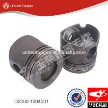 Pistão original D0200-1004015A do motor de YC4D para o yuchai