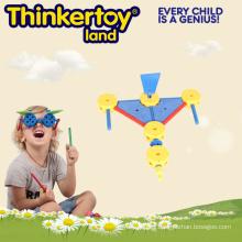Patrón bloques DIY juguetes educativos para la escuela