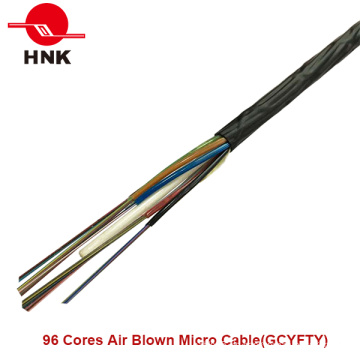 96 Kerne Gibstes Luft geblasenes Mikrokabel