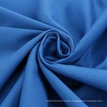 No Deformation Comfortable Cotton Stretch Polyester Fabrics Dyed Poplin