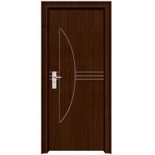 nuevo diseño popular PVC puerta