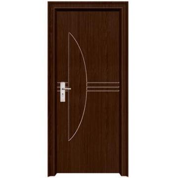 porte de chambre PVC populaire de conception nouvelle