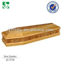 poignées en métal professionnel cercueil avec belle décoration