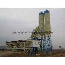 Planta concreta móvel de 50m3 / H mini, fábrica de tratamento por lotes concreta móvel da planta