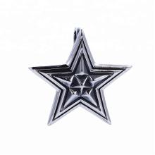 33490 xuping moda Acero inoxidable joyería gótica diseño fresco Estrellas forma colgante