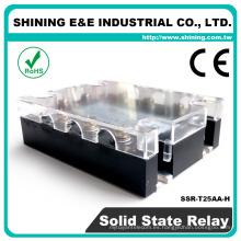 SSR-T25AA-H Tipo Fotek de estado sólido 3-Phase 24V Power 24VAC AC Relay