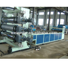 PVC calendar sheet making machine