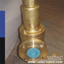 По API 520 полный лифт/низкий подъем бронзовый предохранительный клапан (A46Y)