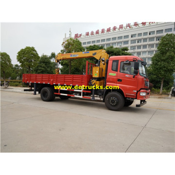 Dongfeng 220HP 8ton Camions Grues