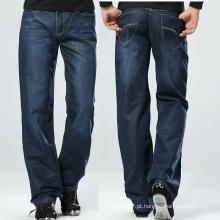 Moda Masculina Jogger Loose Blue Jeans Lavados