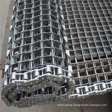 Food Grade 304 Stainless Steel Chain Link Spiral Wire Mesh Conveyor Belt