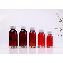 kinds of capacity amber medicine bottle