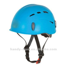 CE UIAA PP Plastic Rock Mountain Climbing casque de protection sportive