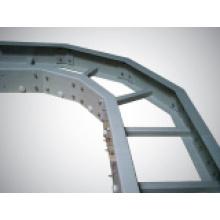 Bandejas de Cabo FRP // Material de Construção // Ponte de Cabo de Fibra de Vidro