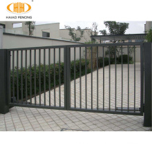 Popular high quality powder coated different types of iron gate