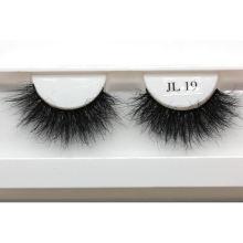 ZWP7ZF21 Hitomi Custom Lashes Packaging Mink Lashes wholesale price mink eyelash Fluffy real 21mm mink eyelashes
