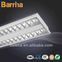 2x28W управление освещение T5 Лампы люминесцентные встраиваемые решетка