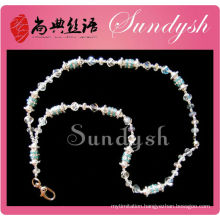 Wholesle Jewelry Bling Crystal Bead Lanyard Maker From China