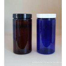 Pot en plastique de haute qualité pour bocal à conserves 1000 g