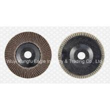 5′′ Calcination Oxide Flap Abrasive Discs (Plastic cover 27*14mm)