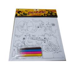 3D pintura DIY rompecabezas educativos juegos para niños rompecabezas de papel