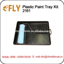 black plastic Paint Tray Kit
