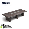 2019 top selling luxury meeting desk lengthen melamine wood conference table with chairs