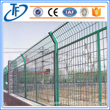 High security mesh panel fencing