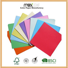 5 Pastel Colors Color Packing Paper Offset Paper with Wood Pulp