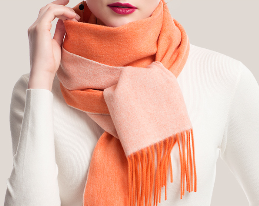 Double Face Cashmere Scarf