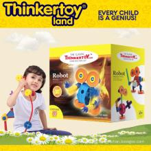 Пластмассовая строительная игрушка для детей