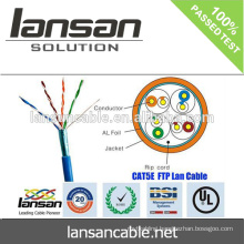 High speed CAT5E cable and wire 100% Fluke pass