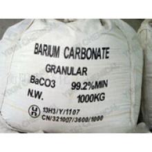 Белый порошок или гранулированный 99,2% карбонат бария для промышленности