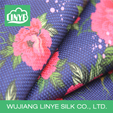 "57 ""/ 58"" 100% poliéster impressão digital foral vestuário tecido"